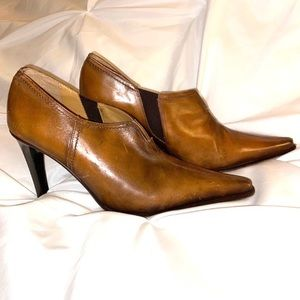 Andrew Stevens RARE Heeled Leather (ITALY) Shoes